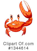 Crab Clipart #1344614 by Graphics RF