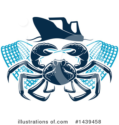Crab Clipart #1439458 by Vector Tradition SM