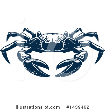 Crab Clipart #1439462 by Vector Tradition SM