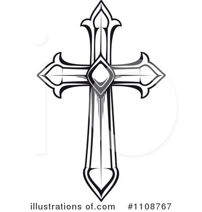 cross clipart 1108767 illustration by vector tradition sm rh illustrationsof com free cross clip art images free cross clip art black and white