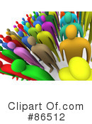 Crowd Clipart #86512 by 3poD