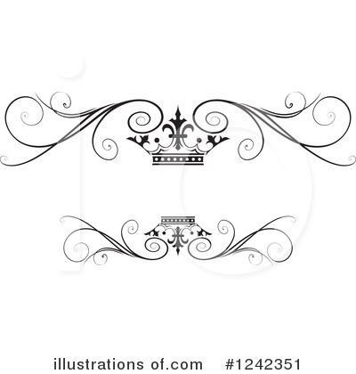 Wedding Frame Clipart #1242351 by Lal Perera