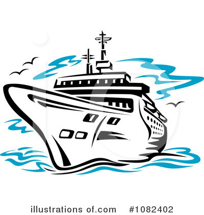 Cruise Clipart 1082402 Illustration By Vector Tradition Sm