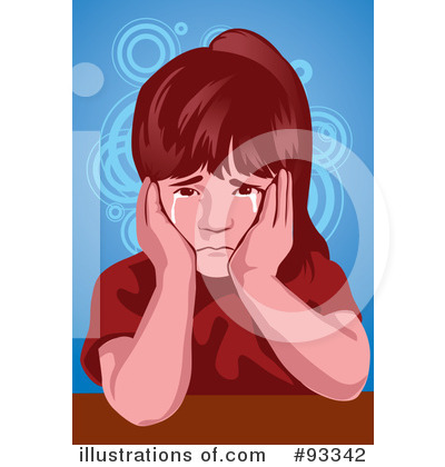 Crying Clipart #93342 - Illustration by mayawizard101