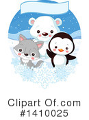 Cute Animal Clipart #1410025 by Pushkin