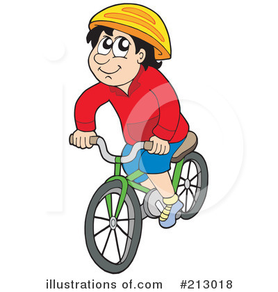 Cycling Clipart #213018 - Illustration by visekart