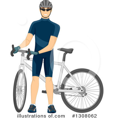 Bicycle Clipart #1308062 by BNP Design Studio