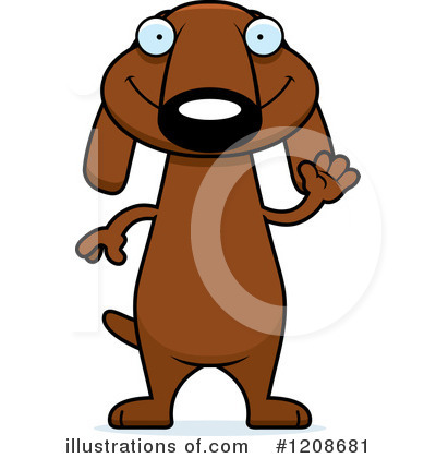 Dog Clipart #1208681 by Cory Thoman