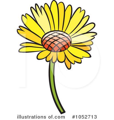Daisy Clipart #1052713 - Illustration by Lal Perera
