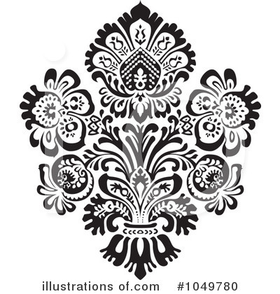 damask clipart 1049780 illustration by bestvector rh illustrationsof com gold damask clipart damask frame clipart