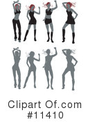 Dance Clipart #11410 by AtStockIllustration