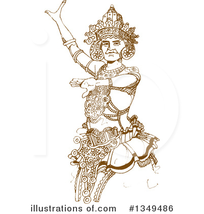 Dancer Clipart 1349486 Illustration By Lal Perera