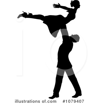 Dancing Clipart #1079407 by KJ Pargeter