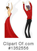 Dancing Clipart #1352556 by BNP Design Studio