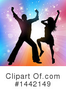 Dancing Clipart #1442149 by KJ Pargeter