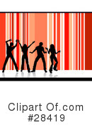 Dancing Clipart #28419 by KJ Pargeter
