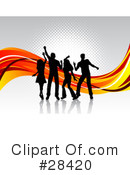 Dancing Clipart #28420 by KJ Pargeter