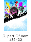 Dancing Clipart #35432 by KJ Pargeter
