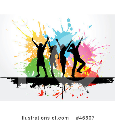 Splatters Clipart #46607 by KJ Pargeter