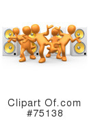 Dancing Clipart #75138 by 3poD