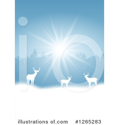 Winter Landscape Clipart #1265283 by KJ Pargeter