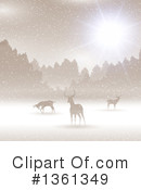 Deer Clipart #1361349 by KJ Pargeter