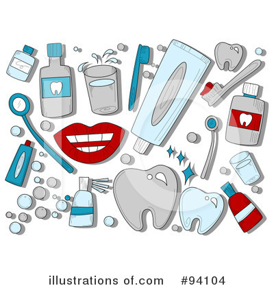 dental clipart 94104 illustration by bnp design studio rh illustrationsof com Free Smile Clip Art Free School Clip Art