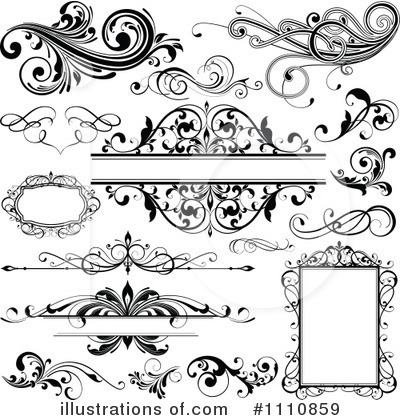 Royalty-Free (RF) Design Elements Clipart Illustration by OnFocusMedia - Stock Sample #1110859