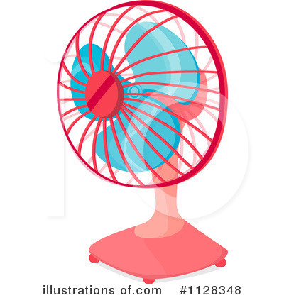 Desk Fan Clipart 1128348 Illustration By Graphics Rf