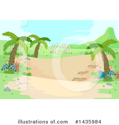 Palm Trees Clipart #1435984 by BNP Design Studio