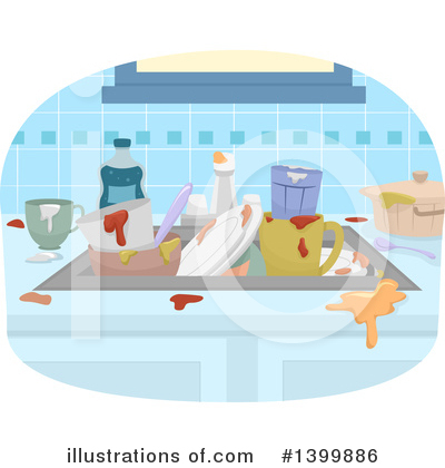 Kitchen Clipart #1399886 by BNP Design Studio