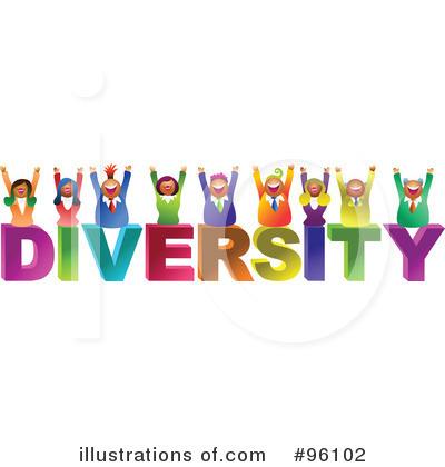 Diversity Clipart #96102 - Illustration by Prawny