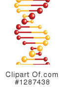 Dna Clipart #1287438 by Vector Tradition SM