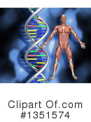 Dna Clipart #1351574 by KJ Pargeter