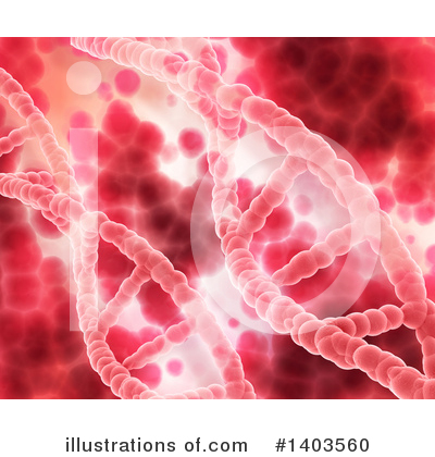 Dna Clipart #1403560 by KJ Pargeter