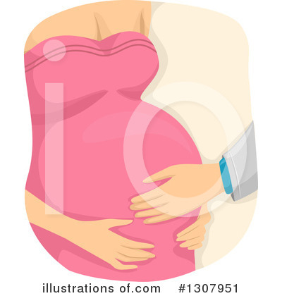 Pregnant Clipart #1307951 by BNP Design Studio