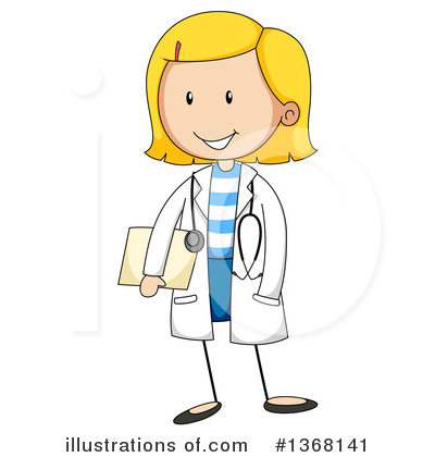 Doctor Clipart #1368141 by Graphics RF