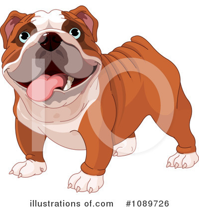 Bulldog Clipart #1089726 by Pushkin