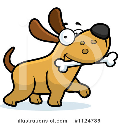 Dog Clipart #1124736 by Cory Thoman