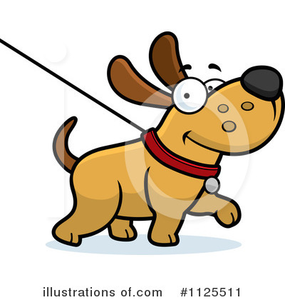 Dog Clipart #1125511 by Cory Thoman