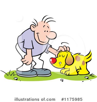 Dog Clipart #1175985 - Illustration by Johnny Sajem