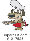 Dog Clipart #1217523 by toonaday