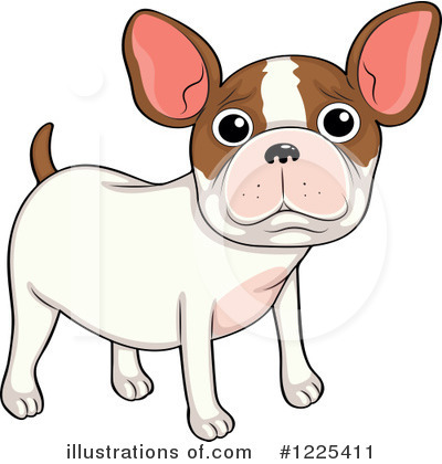 French Bulldog Clipart #1225411 by Graphics RF
