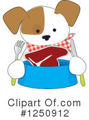 Dog Clipart #1250912 by Maria Bell