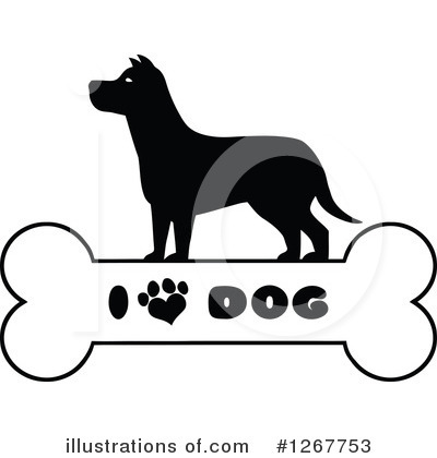 Paw Prints Clipart #1267753 by Hit Toon