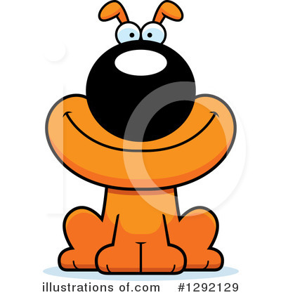 Dog Clipart #1292129 by Cory Thoman