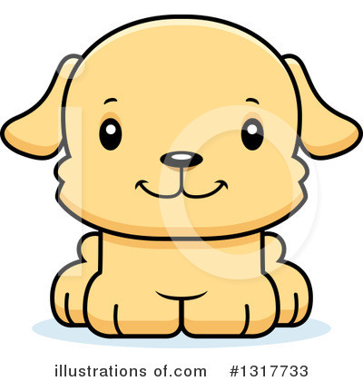 Royalty-Free (RF) Dog Clipart Illustration by Cory Thoman - Stock Sample #1317733