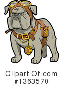 Dog Clipart #1363570 by Clip Art Mascots