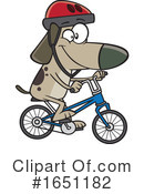 Dog Clipart #1651182 by toonaday