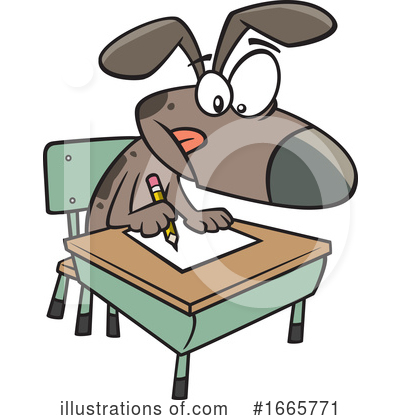 Dog Clipart #1665771 by toonaday